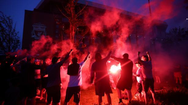 Wenn Bilder Mehr Als Worte Sagen Liverpool Feiert Seine Champions