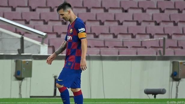 Messi fühlt sich offenbar nicht mehr wohl in Barcelona