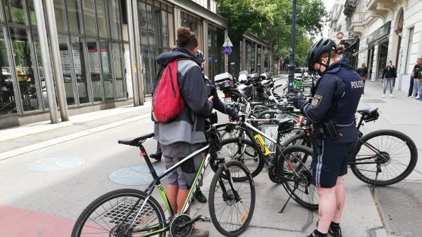 Fahrradpolizei