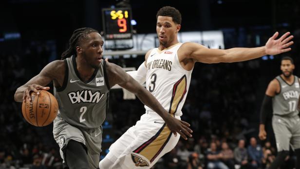 NBA: New Orleans Pelicans at Brooklyn Nets