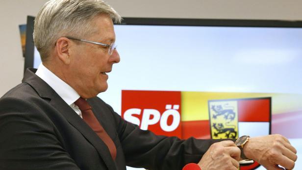 """PK """"WEITERE VORGANGSWEISE BEI DER BILDUNG EINER REGIERUNGSKOALITION"""": KAISER (SPÖ)"""