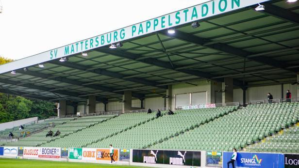Fußball, SV Mattersburg - SCR Altach