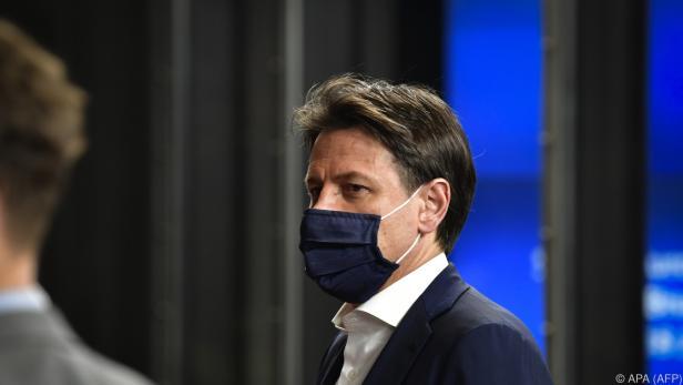 Conte wollte den Status Quo noch bis Allerheiligen beibehalten