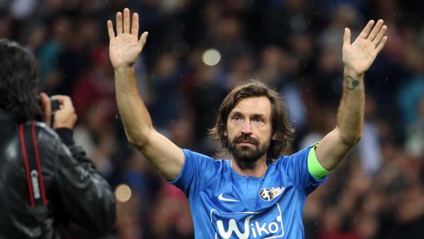 'La Notte del Maestro' farewell match for Andrea Pirlo