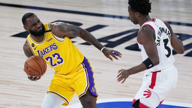 NBA: Los Angeles Lakers at Toronot Raptors