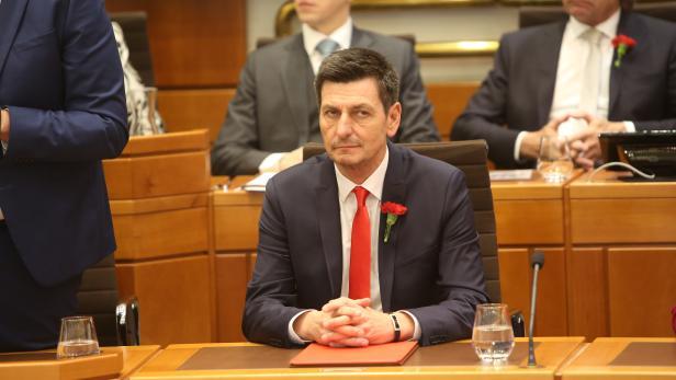 Konstituierende Sitzung des Burgenländischen Landtages