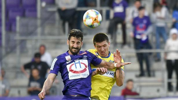 FUSSBALL TIPICO BUNDESLIGA / MEISTERRUNDE: FK AUSTRIA WIEN - SKN ST. PÖLTEN