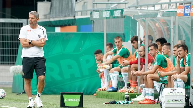 Fußball, SK Rapid Wien - Liberec