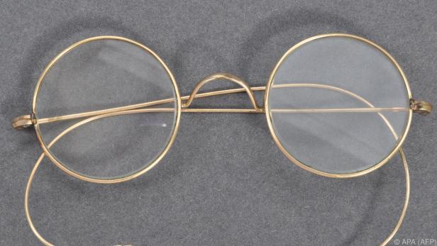 Diese Brille soll Mahatma Gandhi getragen haben