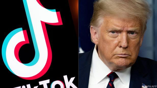 Donald Trump will TikTok zu Verkauf des US-Geschäfts zwingen