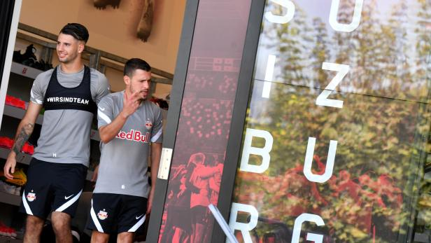 FUSSBALL:  TRAINING FC RED BULL SALZBURG