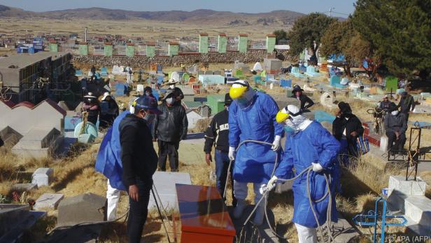 Die höchste Sterblichkeitsrate in einem Flächenstaat hat Peru
