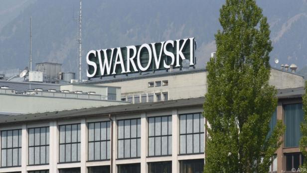 Außenansicht des Swarovski-Werks in Wattens
