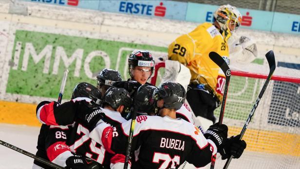 Eishockey, Vienna Capitals - Bratislava Capitals