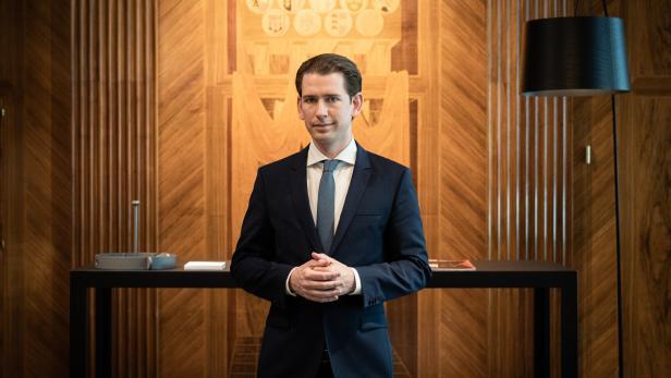 Der österreichische Bundeskanzler Sebastian Kurz im Interview