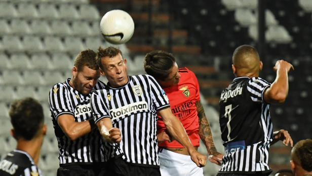 Champions League - Third Qualifying Round - PAOK v Benfica