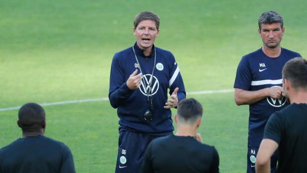 Wolfsburg training session