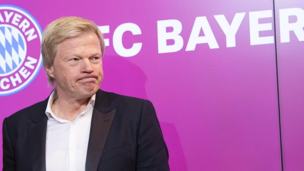 FC Bayern Munich presents Oliver Kahn as new member of the board
