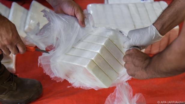 Immer mehr Kokain wird beschlagnahmt