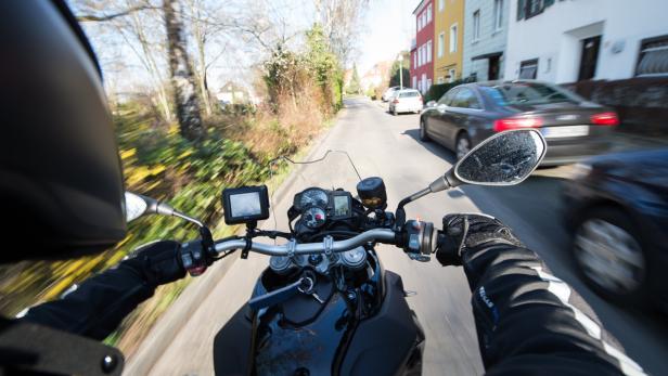 Motorradraser vor Gericht