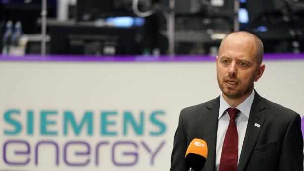 Initial public offering of Siemens Energy AG at the Frankfurt Stock Exchange