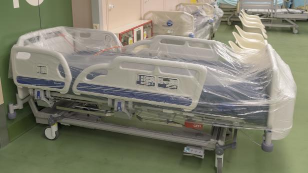 Themenbild Krankenhaushygiene im AKH Wien (Medizin, Gesundheit, Krankenhaus, Hygiene, Sterilisation, Desinfektion)
