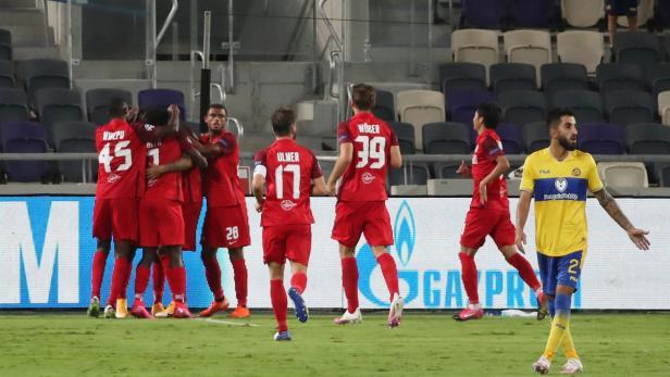 Champions League - Play-off - First Leg - Maccabi Tel Aviv v Red Bull Salzburg