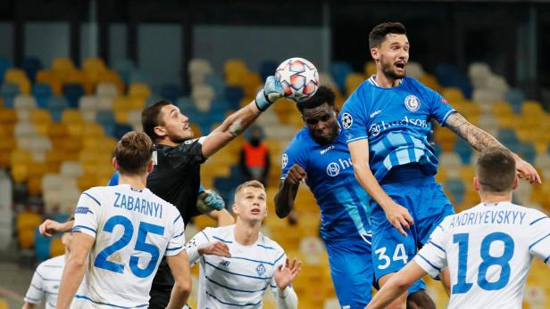 Champions League - Play-off - Second Leg - Dynamo Kyiv v KAA Gent