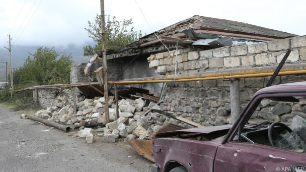 Kämpfe in Berg-Karabach dauern an