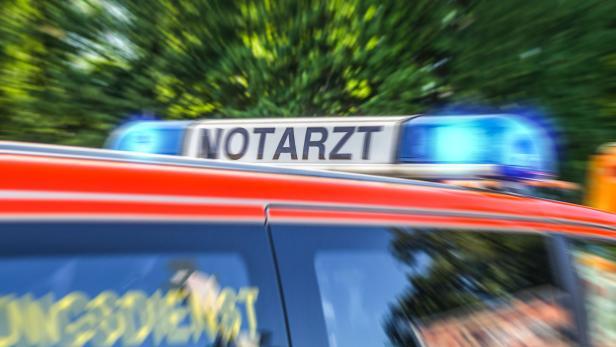 blue light bar from a german Notarzt, emergency doctor car