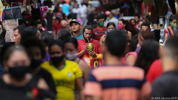 Coronavirus breitet sich in Brasilien weiter aus