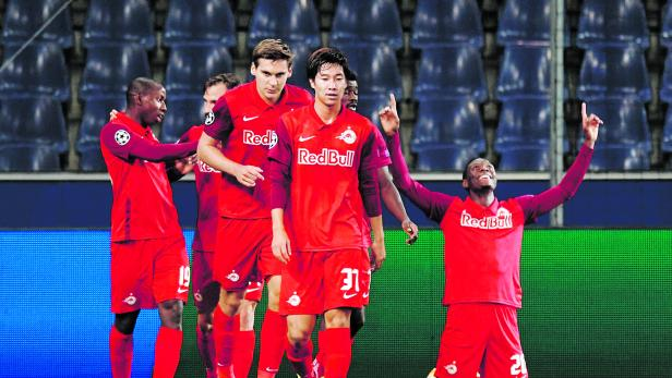 Fussball, FC Salzburg - Maccabi Tel-Aviv FC
