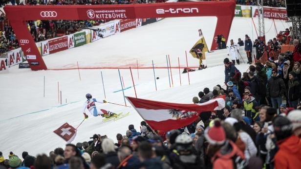 FIS Alpine Skiing World Cup in Kitzbuehel
