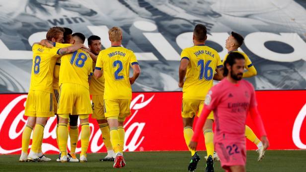 Real Madrid vs Cadiz CF