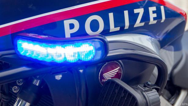 Die Polizei nahm die Frau fest