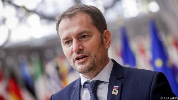 Der slowakische Regierungschef Igor Matovic