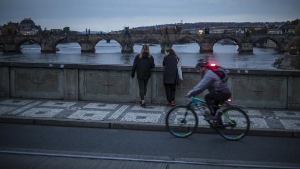 Daily life amid coronavirus in Prague