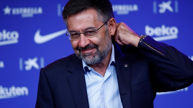 Barcelona FC President Josep Maria Bartomeu