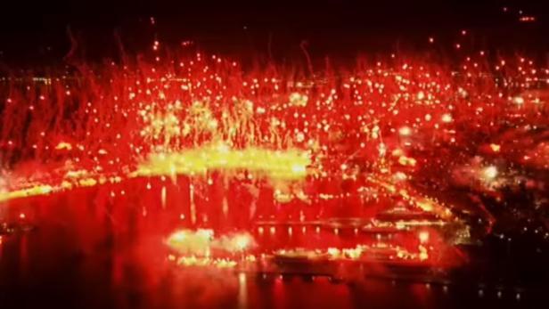 Split under Fire - Torcida feiert Geburtstag