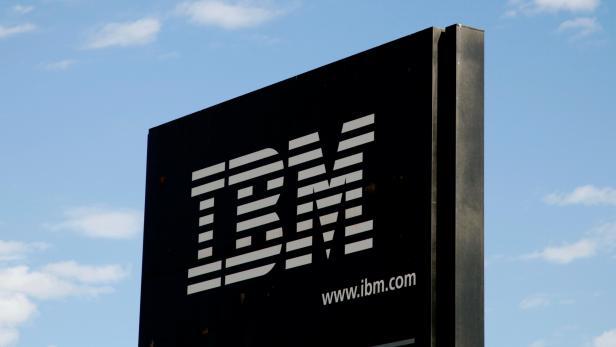 FILE PHOTO: The sign at the IBM facility near Boulder, Colarado