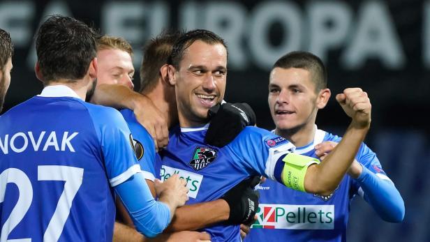 Europa League match Feyenoord-Wolfsberger AC