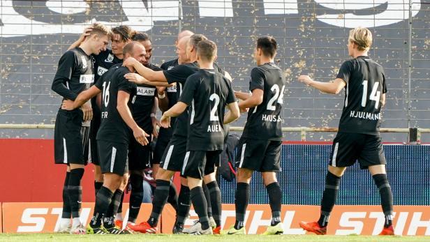 Fußball, Admira - SV Ried
