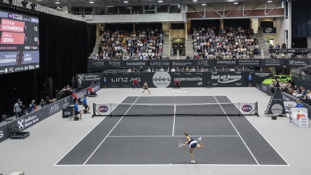 TENNIS: WTA-TOUR / UPPER AUSTRIA LADIES LINZ / EINZEL / FINALE: