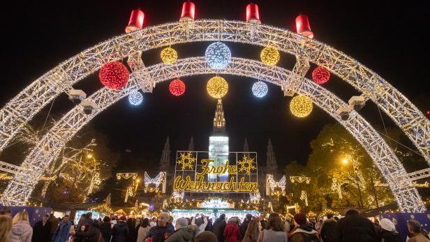 Wiener Weihnachtstraum 2019 am Rathausplatz