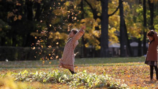 Russia golden autumn