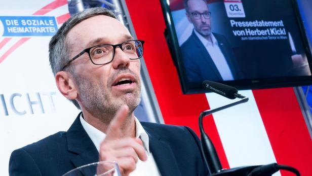 "ANSCHLAG IN WIEN: PK FPÖ ""ISLAMISTISCHER TERROR IN WIEN"": KICKL"