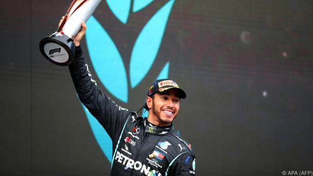 Zehnter Saisonsieg und siebenter Titel für Hamilton