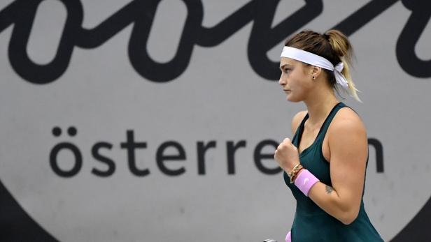 TENNIS UPPER AUSTRIA LADIES LINZ (WTA): SABALENKA (BLR)