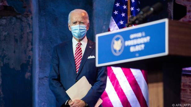 Biden fordert Trump zu Amtsübergabe auf