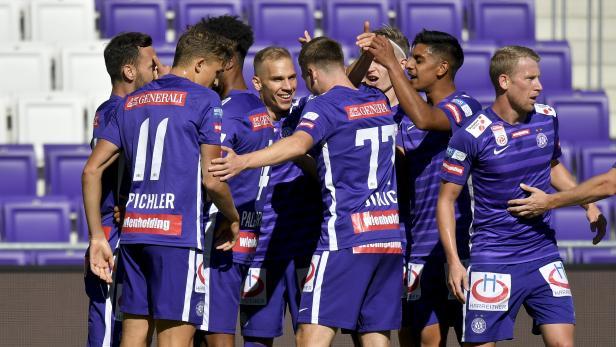 FUSSBALL: TIPICO BUNDESLIGA / GRUNDDURCHGANG: FK AUSTRIA WIEN - FC FLYERALARM ADMIRA